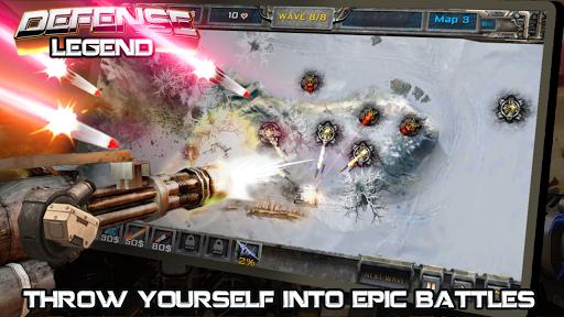 Tower defense- Defense Legend 2.1 APK MOD screenshots 2