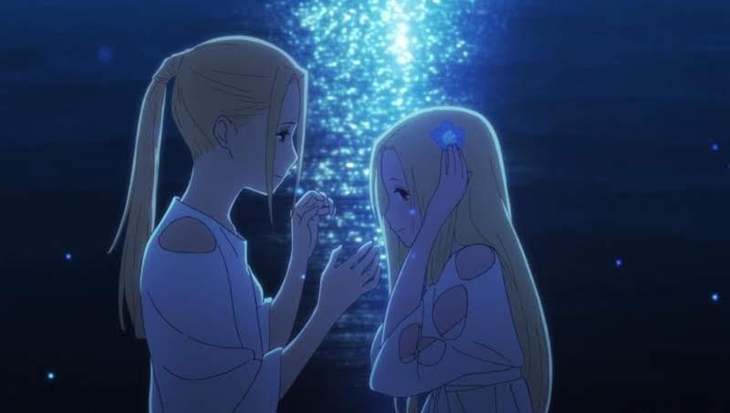คริม (ซ้าย) ให้เสียงโดย Ai Kayano / เรเลีย (ขวา) ให้เสียงโดย Yuuki Kaji