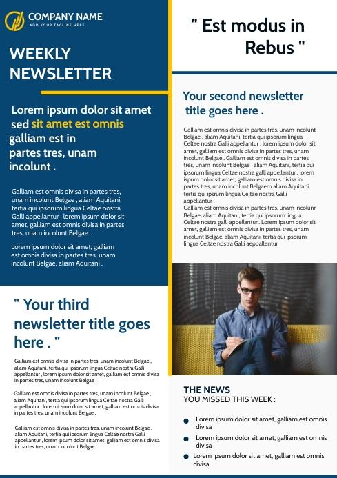 exemples newsletters éditoriales