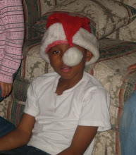 Photo: Izjan w/ Jihad's santa hat