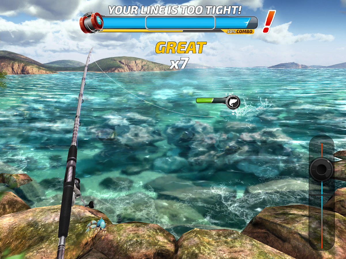 Fishing clash catching fish game bass hunting 3d for Fishing game android