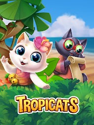 Tropicats: Free Match 3 on a Cats Tropical Island APK screenshot thumbnail 14