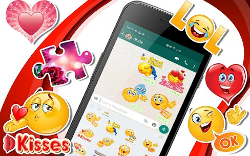 💕😍 WAStickerApps –  Love stickers for whatsapp Download For Android 1