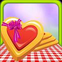 Jam Heart Cookies Bakery icon