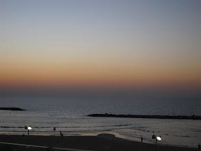 Photo: Tel Aviv sunset
