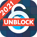 Blue Proxy Unblock Websites Free VPN Proxy Browser icon