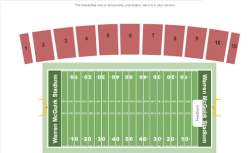 College Football Tickets - náhled