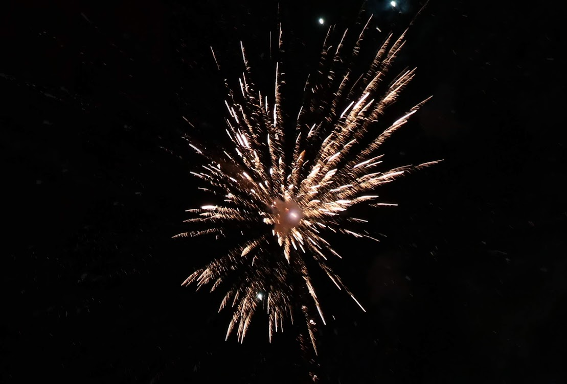 St Michaels Fireworks 2018 Tenterden