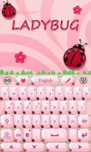 Cute-Ladybug-GO-Keyboard-Theme