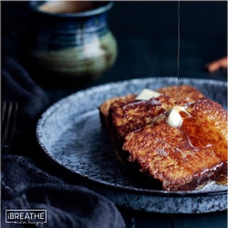 Pumpkin Bread French Toast - Low Carb and Gluten Free.