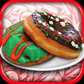 Christmas Donut Maker Baker icon