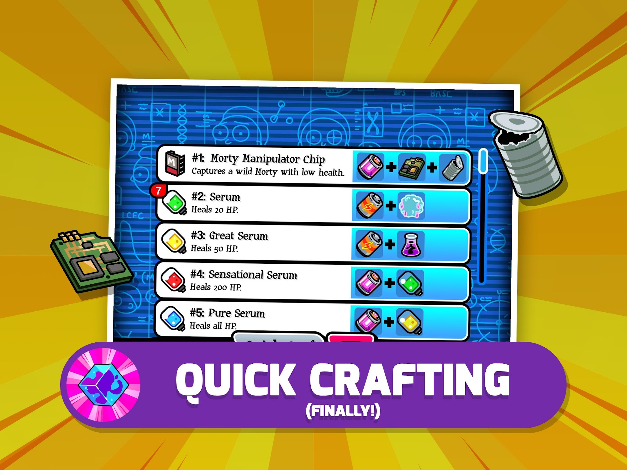 Pocket Mortys screenshot #9