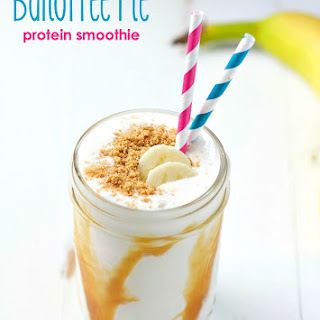 Banoffee Pie Protein Smoothie