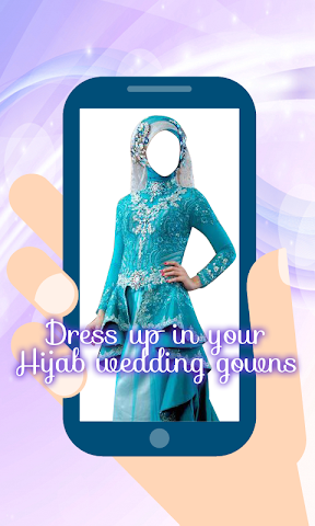 android Hijab Wedding Montage Maker Screenshot 4