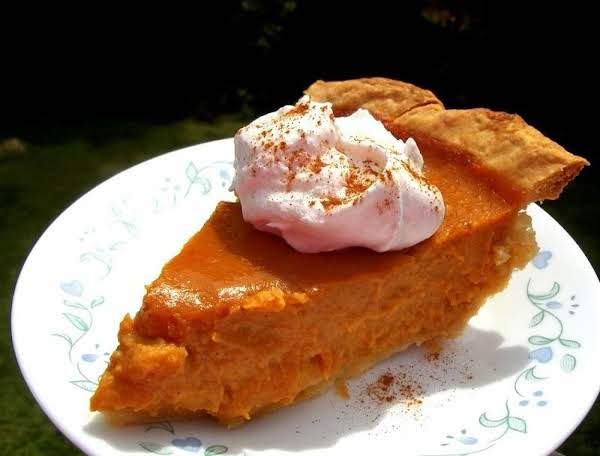 Candied Yam & Pumpkin Pie - Delicious! Recipe