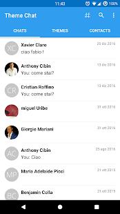 Theme Chat Messenger - náhled