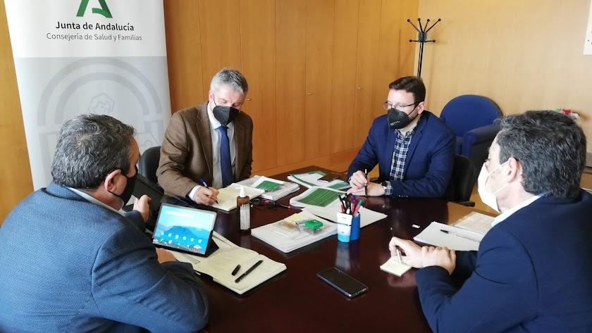 Reunión del Comité territorial de Alerta de Salud Pública en la provincia de Almería.