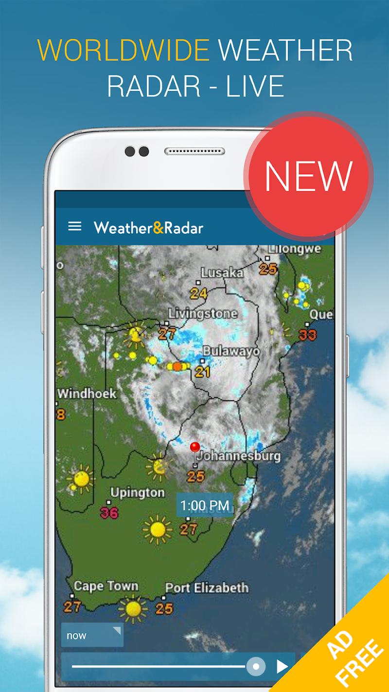 Weather & Radar Pro - Ad-Free Screenshot 2