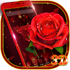 3D Rose Launcher - Classic Rose Theme icon