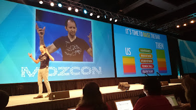 Photo: #mozcon Dr. Pete talked about content creation. It was a great session.