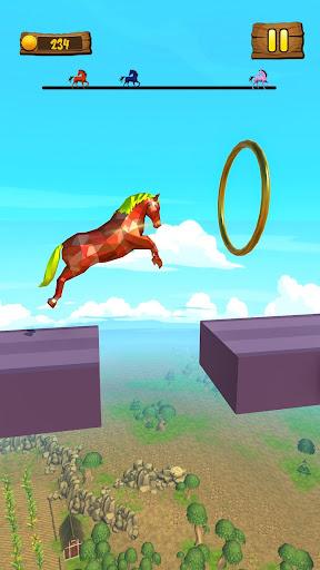 Horse Run Fun Race 3D Games apkpoly screenshots 8