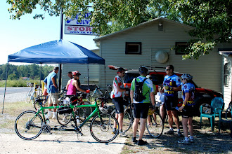 Photo: The Coatesville store stop was a welcome site for both the historic and century plus riders