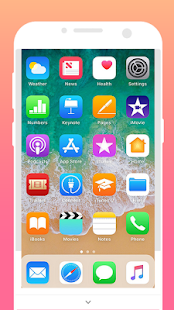 luancher for iphone x theme pro - náhled