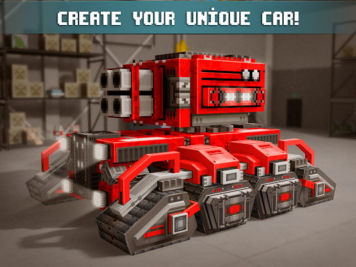 Blocky Cars - Online Shooting Game for PC