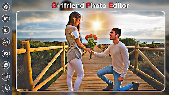 Girlfriend Photo Editor - náhled