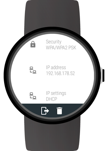Wi-Fi Manager for Wear OS (Android Wear) screenshots 9