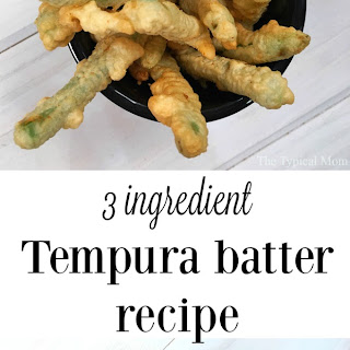 Recipe For Tempura Batter.