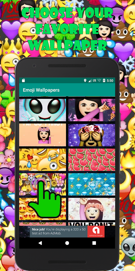 Emoji Wallpapers 🙈 🙉 🙊- screenshot