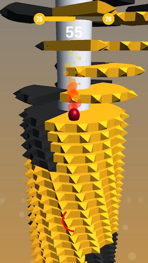 Helix Stack Ball - Optimised cheat screenshots 1