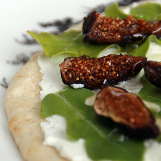Fig, Ricotta, and Honey Tartine