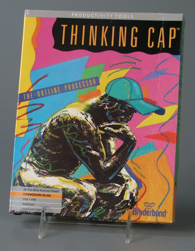 Computer software:Commodore 64 Thinking Cap: The Outline Professor