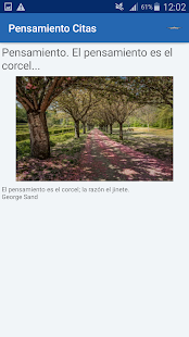 Download Pensamiento Citas y frases famosas For PC Windows and Mac apk screenshot 4