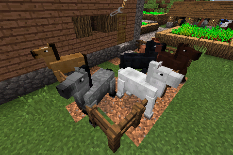 Horses for Minecraft