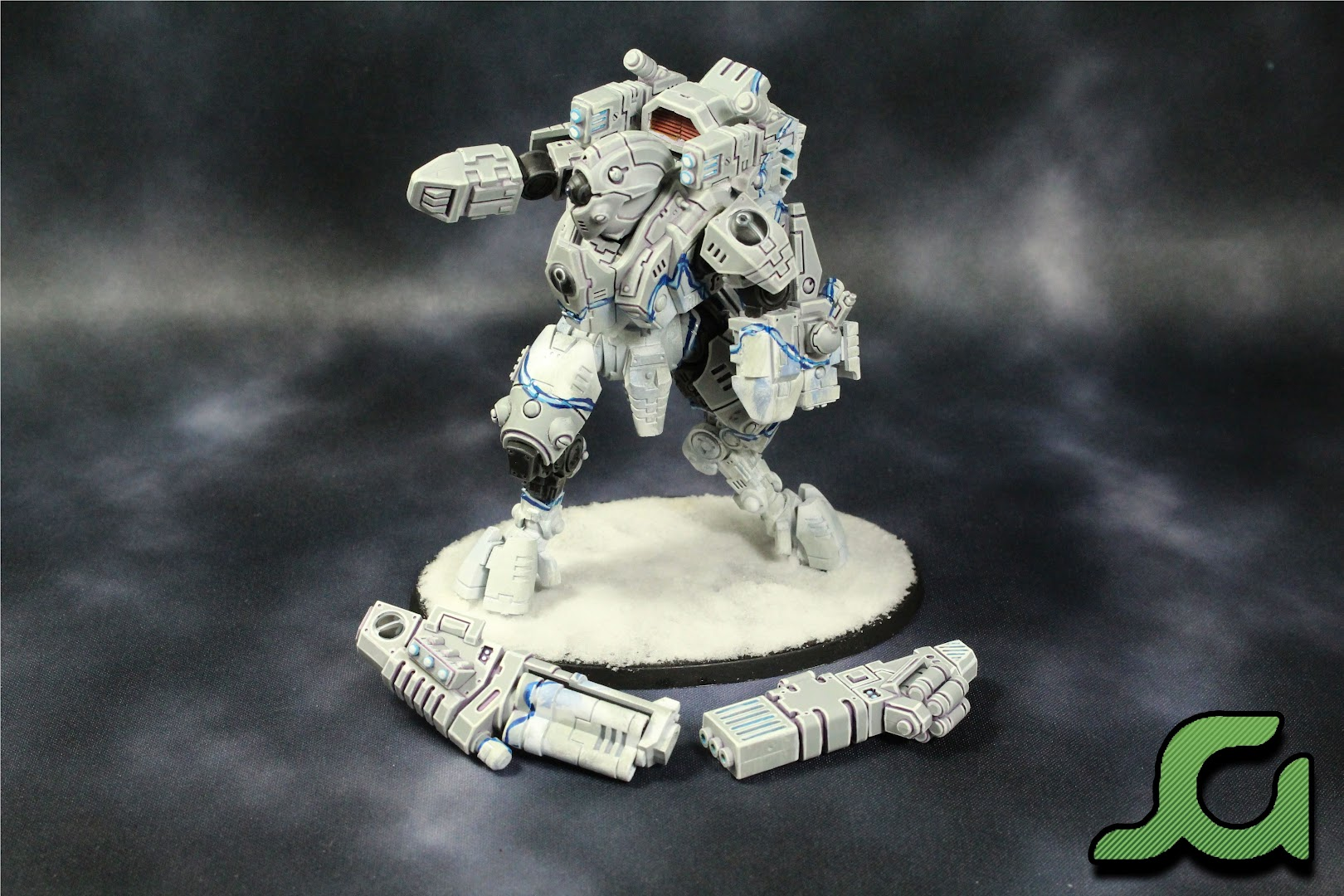 Ghostkeel with Weapons