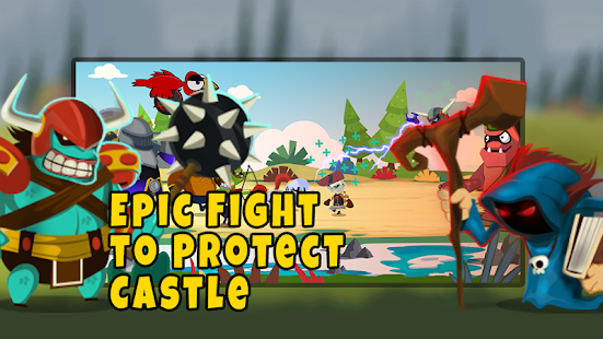 Castle Monsters: Battle of Hero Warriors for PC-Windows 7,8,10 and Mac apk screenshot 1