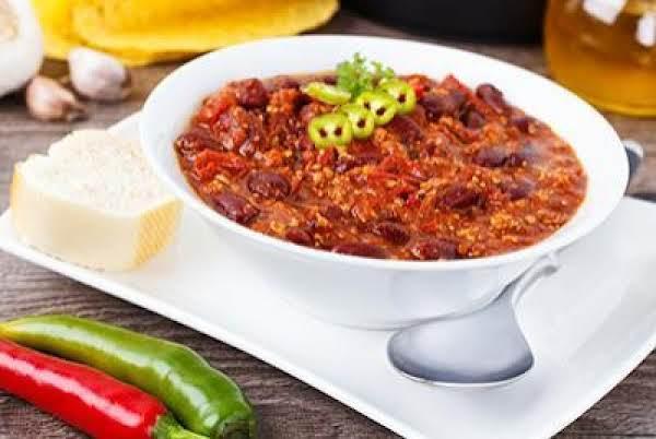 High-fiber Chili Recipe