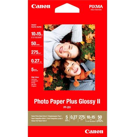 FotopapperCanonPP201 10x15 50f