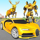Deer Robot Car Game – Robot Transforming Games APK download