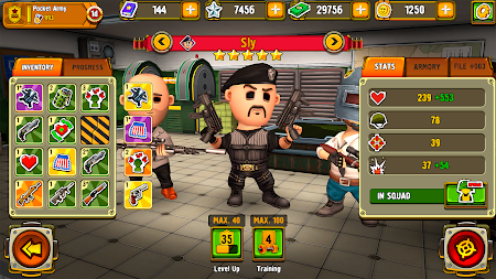 Pocket Troops: Strategy RPG APK screenshot thumbnail 7