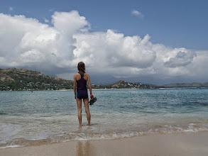 Photo: Paddling at Kailua.