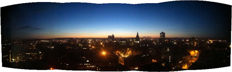 Photo: it was the middle of the night and I was bored so I took a panorama pic.