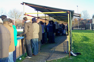 Photo: 01/01/10 v Taunton Town (Southern Leaue South & West Div) 1-0 contributed by Gary Spooner