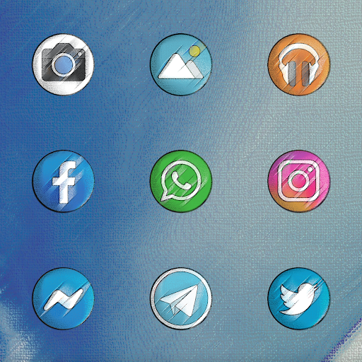 Screenshot for PIXEL VINTAGE - ICON PACK in United States Play Store