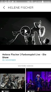 Helene Fischer- screenshot thumbnail