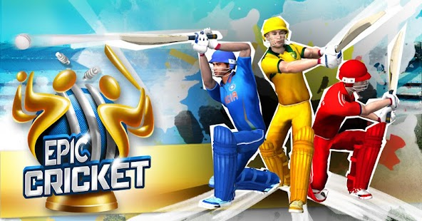 Epic Cricket Big League Game 1.5 APK