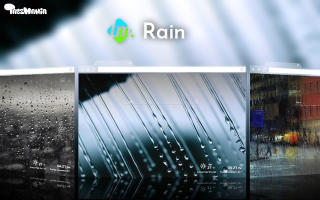 Rainfall High-Resolution Wallpapers New Tab